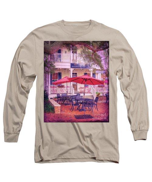 Umbrella Cafe Long Sleeve T-Shirt
