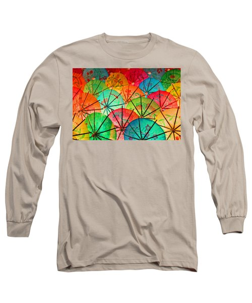Umbrellas Galore Long Sleeve T-Shirt