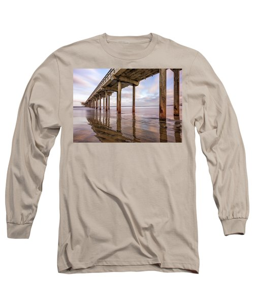 Under Scripps Long Sleeve T-Shirt by Joseph S Giacalone