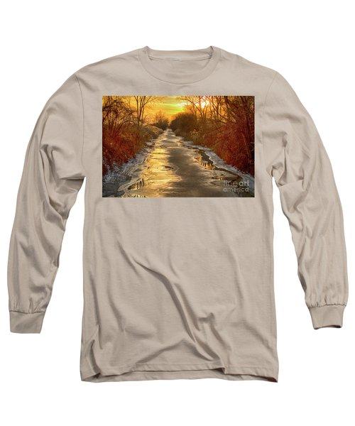 Under The Golden Sky Long Sleeve T-Shirt