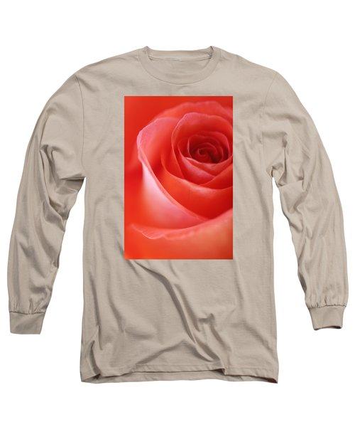 Une Rose Si Belle Long Sleeve T-Shirt by The Art Of Marilyn Ridoutt-Greene