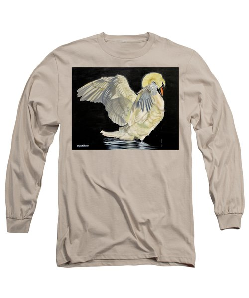Unfolding Drama Long Sleeve T-Shirt by Phyllis Beiser