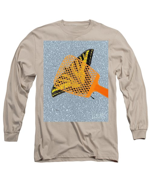 Long Sleeve T-Shirt featuring the digital art Unforgiveable by Patrick Witz