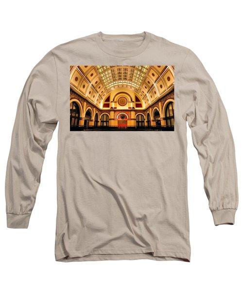 Union Station Balcony Long Sleeve T-Shirt