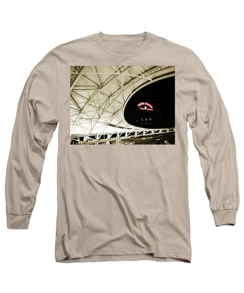 Long Sleeve T-Shirt featuring the photograph Union Station Denver by Marilyn Hunt