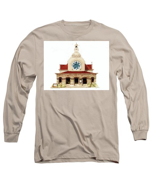 Unitarian Church - F.furness Long Sleeve T-Shirt by William Renzulli