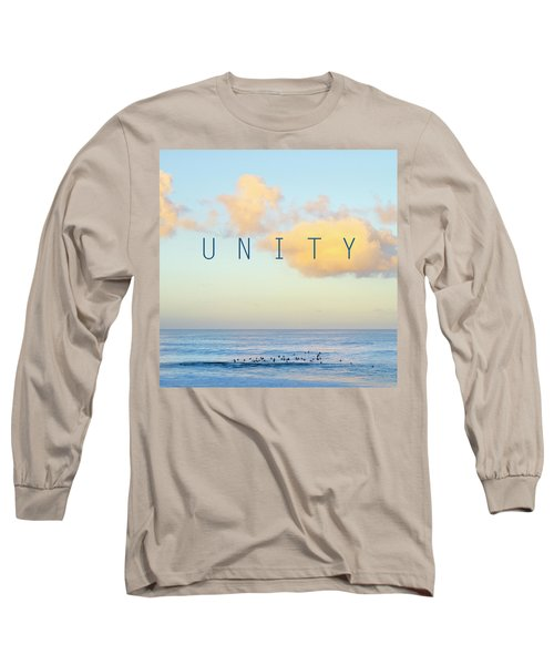 Unity. Long Sleeve T-Shirt