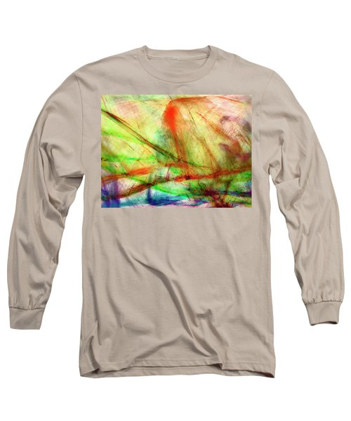 Untitled #140922, From The Soul Searching Series Long Sleeve T-Shirt