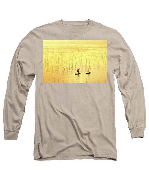 Up At Dawn. Long Sleeve T-Shirt