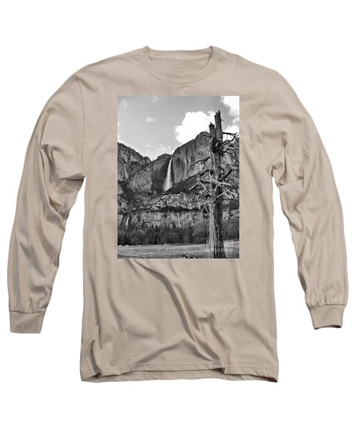 Upper And Lower Yosemite Falls Long Sleeve T-Shirt