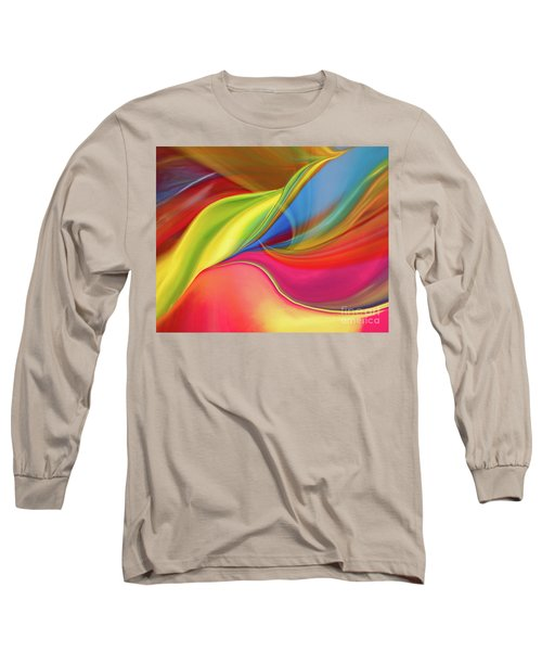 Upside Down Inside Out Long Sleeve T-Shirt