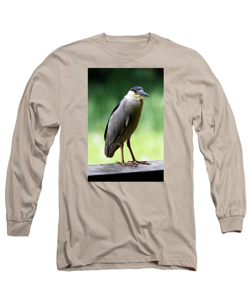 Upstanding Heron Long Sleeve T-Shirt