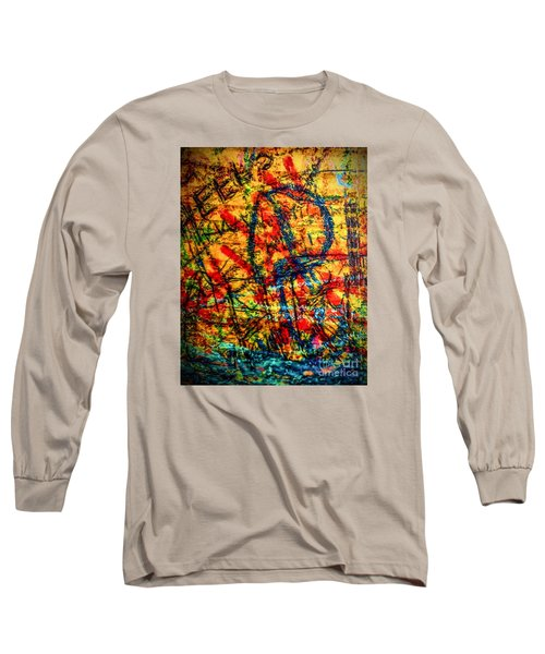 Urban Grunge Two Long Sleeve T-Shirt by Ken Frischkorn