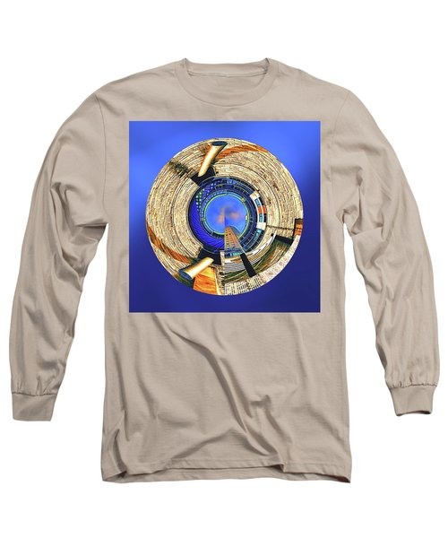 Long Sleeve T-Shirt featuring the digital art Urban Order by Wendy J St Christopher