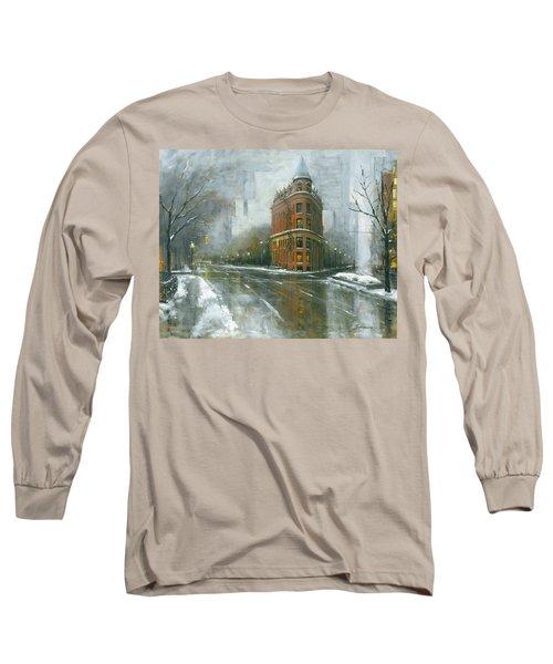 Urban Winter Long Sleeve T-Shirt