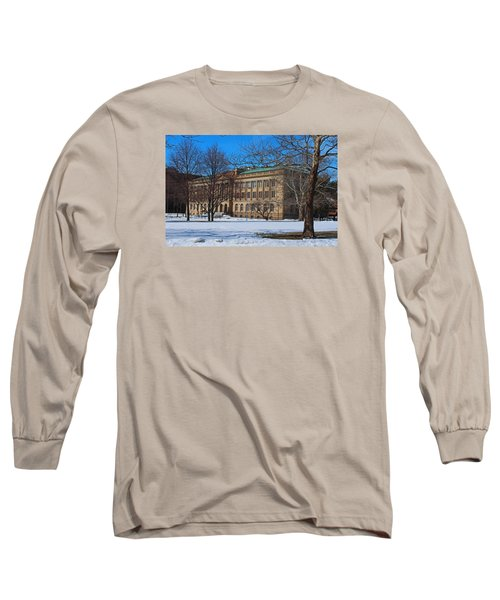 Us Court House And Custom House Long Sleeve T-Shirt by Michiale Schneider