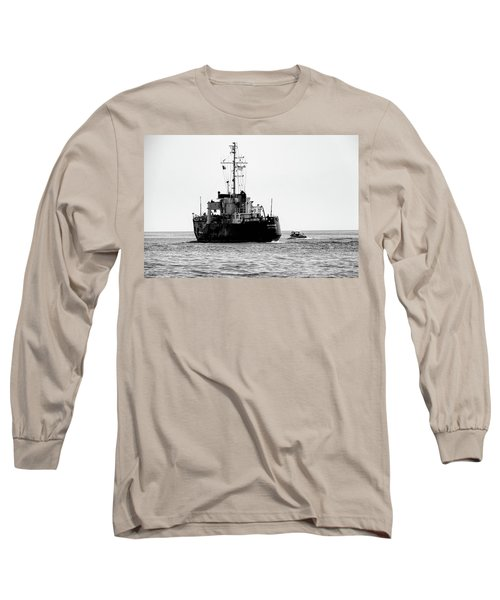 White Portugeuse Long Sleeve T-Shirt by Randy J Heath