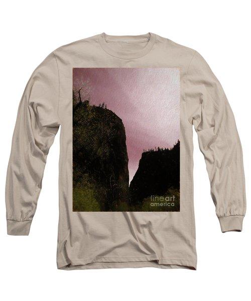 Utah Zion National Park Abstract  Long Sleeve T-Shirt