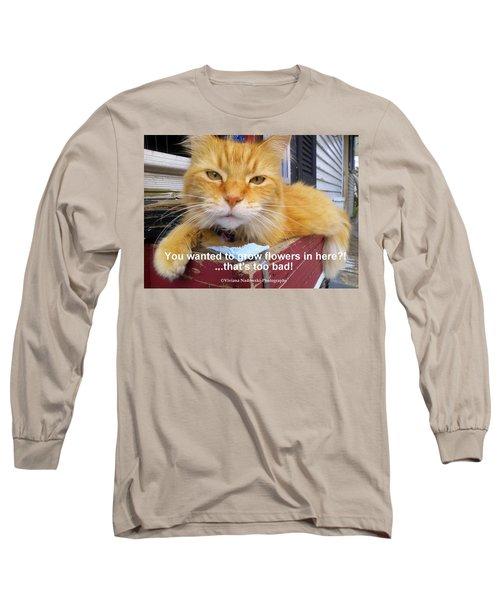 Utter Defiance Long Sleeve T-Shirt