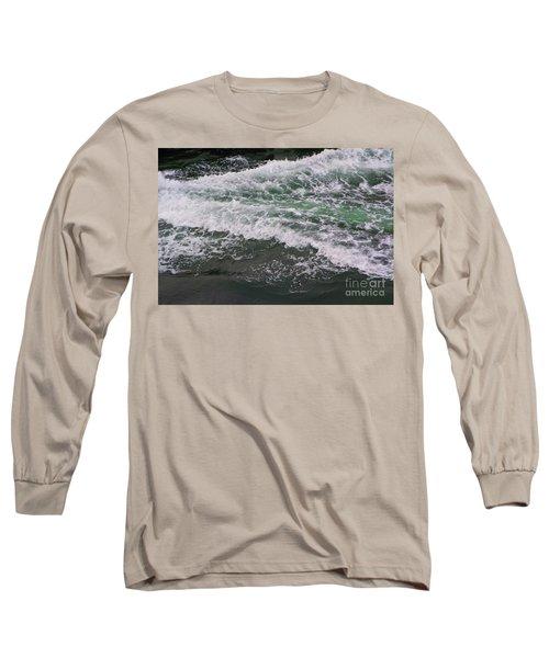V-line Action Long Sleeve T-Shirt