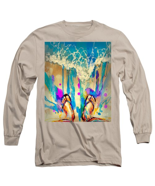 Vacation Time Long Sleeve T-Shirt