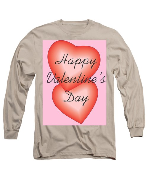 Valentine Hearts Long Sleeve T-Shirt by Sherril Porter