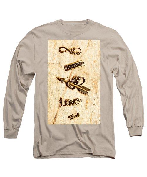 Valentine Pendants Long Sleeve T-Shirt
