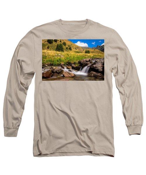 Valle Di Viso - Ponte Di Legno Long Sleeve T-Shirt by Cesare Bargiggia
