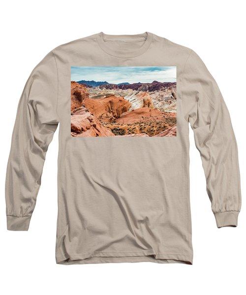 Valley Of Fire  Long Sleeve T-Shirt