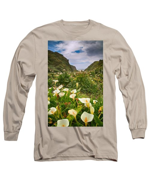 Long Sleeve T-Shirt featuring the photograph Valley Of The Lilies by Laurie Search