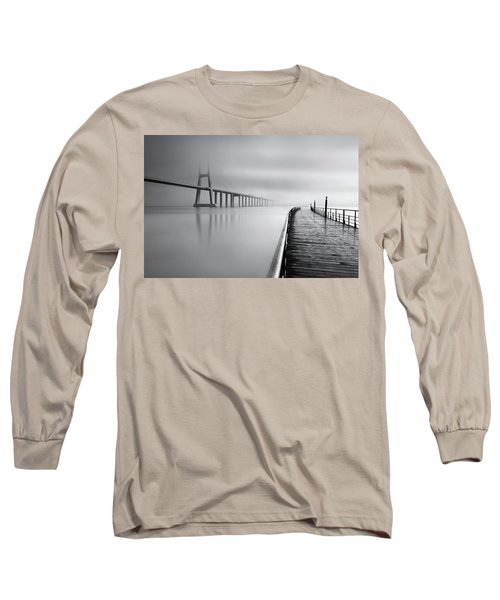 Vanishing Long Sleeve T-Shirt by Jorge Maia