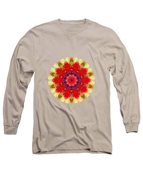 Vase Of Delight-still Life Painting By V.kelly Long Sleeve T-Shirt