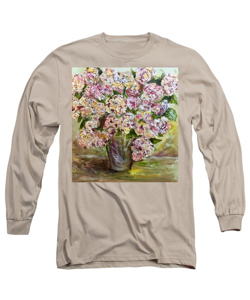 Vase Of Flowers Long Sleeve T-Shirt