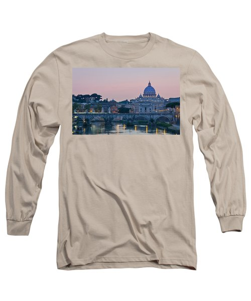 Vatican City At Sunset Long Sleeve T-Shirt