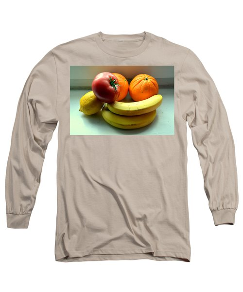 Vegetables And Fruits Long Sleeve T-Shirt