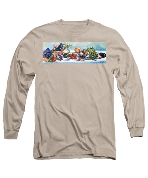 Veggies  Long Sleeve T-Shirt by Alexandra Maria Ethlyn Cheshire