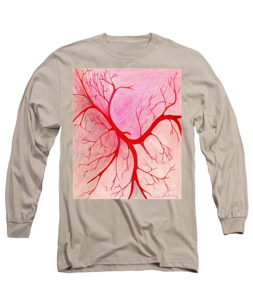 Veins Within Long Sleeve T-Shirt