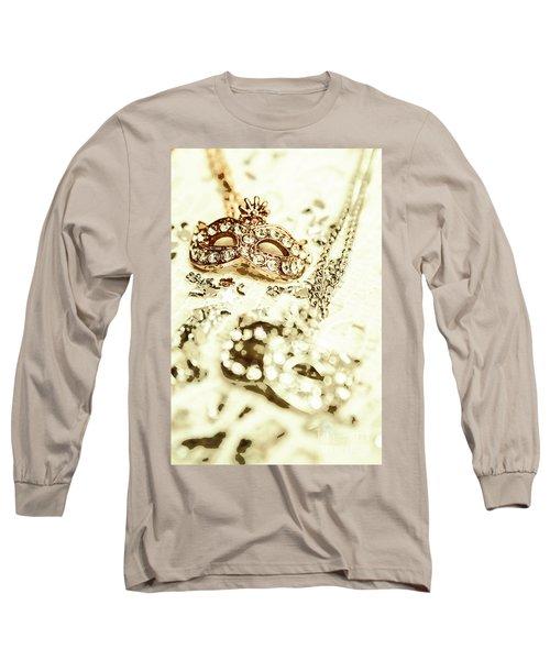 Venetian Crystal Style Long Sleeve T-Shirt