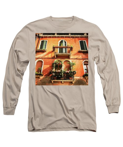Venetian Windows Long Sleeve T-Shirt
