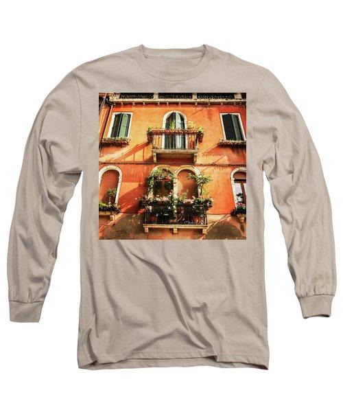 Venetian Windows Long Sleeve T-Shirt