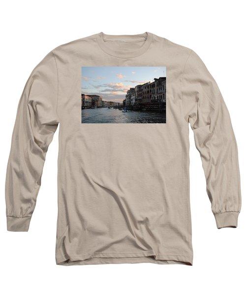 Venice Sunset Long Sleeve T-Shirt by Robert Moss