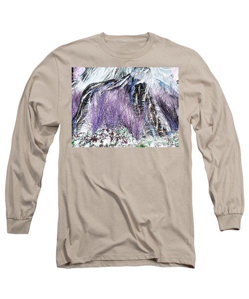 Venus Blue Garden Long Sleeve T-Shirt