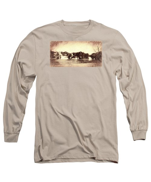Vergennes Falls, Vt 2015 Long Sleeve T-Shirt