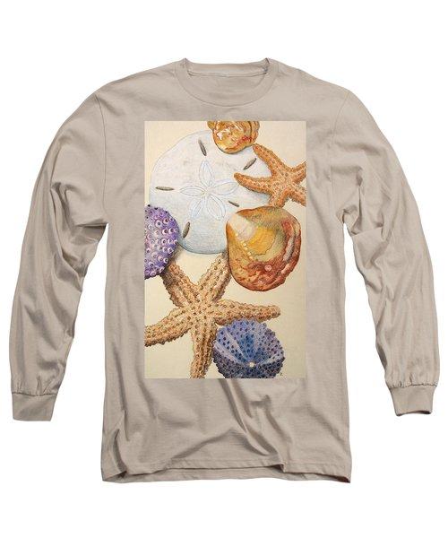 Vertical Starfish Long Sleeve T-Shirt