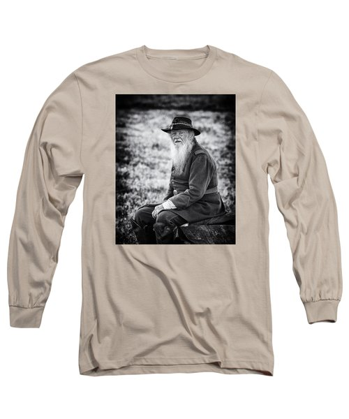 Veteran Soldier Long Sleeve T-Shirt by Alan Raasch
