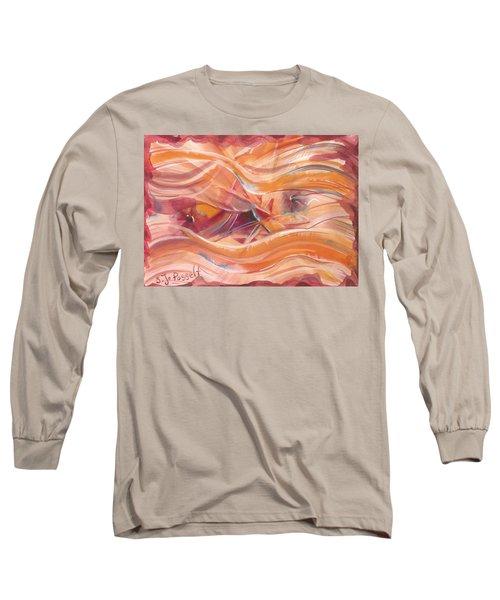Vibrant Silk Long Sleeve T-Shirt