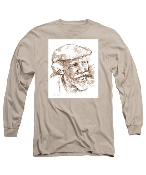 Victor Boa Long Sleeve T-Shirt by Greg Joens