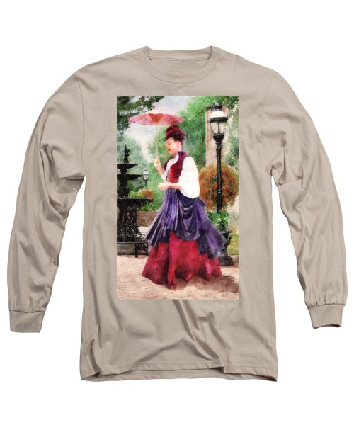 Victorian Lady Long Sleeve T-Shirt