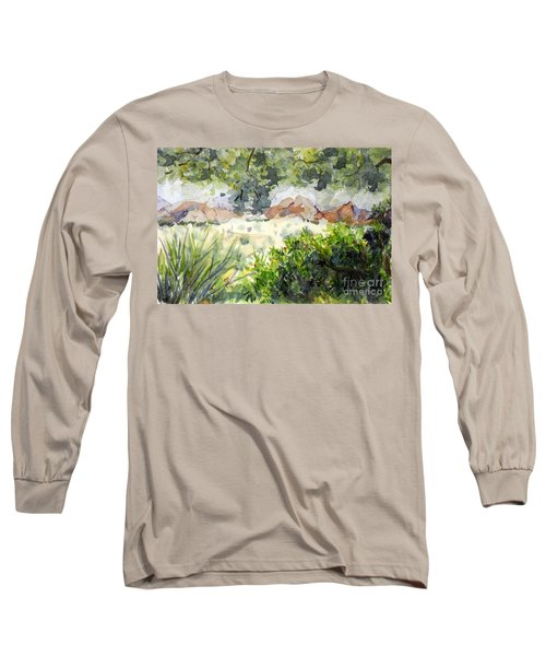 View At Red Rock Long Sleeve T-Shirt by Vicki  Housel