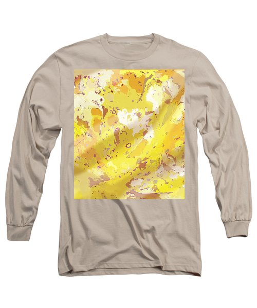 View From Above In Yellow Long Sleeve T-Shirt